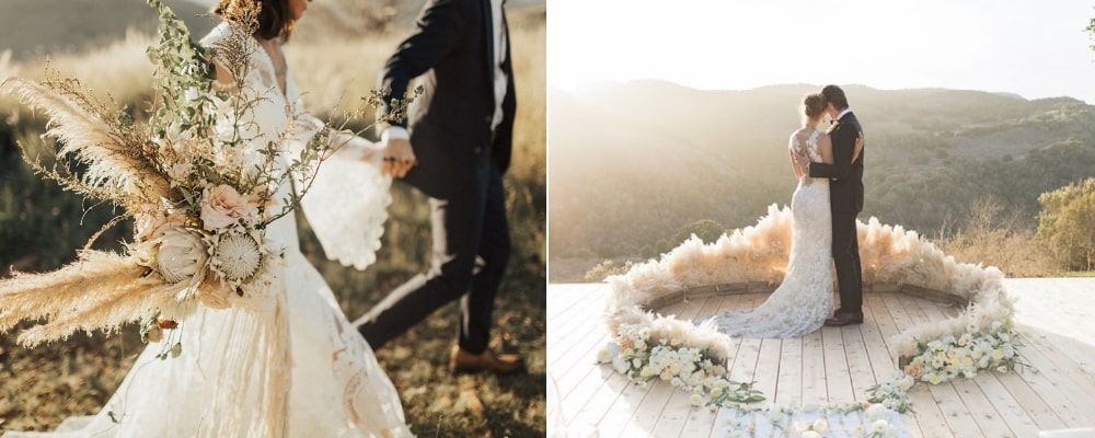 The Latest Wedding Trends For 2019, florals - Aleit Weddings