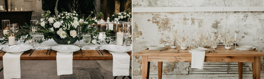 The Latest Wedding Trends For 2019, decor - Aleit Weddings